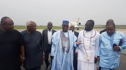 I was searched at Abuja airport on arrival from Dubai - Atiku