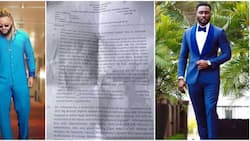 BBNaija winner Whitemoney and Pere featured in a recent DELSU exam, photo of the question paper goes viral