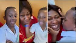 I love you 100bn more, can you beat that? Uche Jombo and son compete over how much they love each other