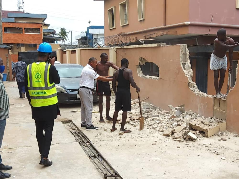 Opebi tragedy: Lagos begins reconstruction of helicopter crash scene