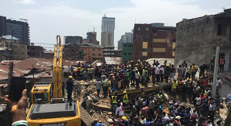 Lagos building collapse: 9 things we know so far