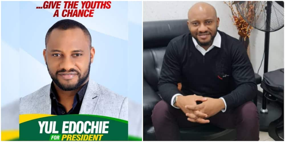Yul Edochie wants to be president