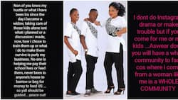 Nollywood actress speaks on life as a widow, says it is no one's business how she raises her children