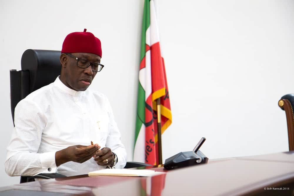 Okowa directs restores salaries of selected workers, appointees in Delta