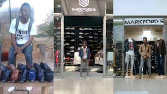 Graduate who started selling shoes on street makes it big, now owns 3 massive clothing stores, shares photos