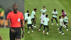 Referee who officiated South Africa vs Nigeria finally speaks after 2 wrong offside calls against Super Eagles