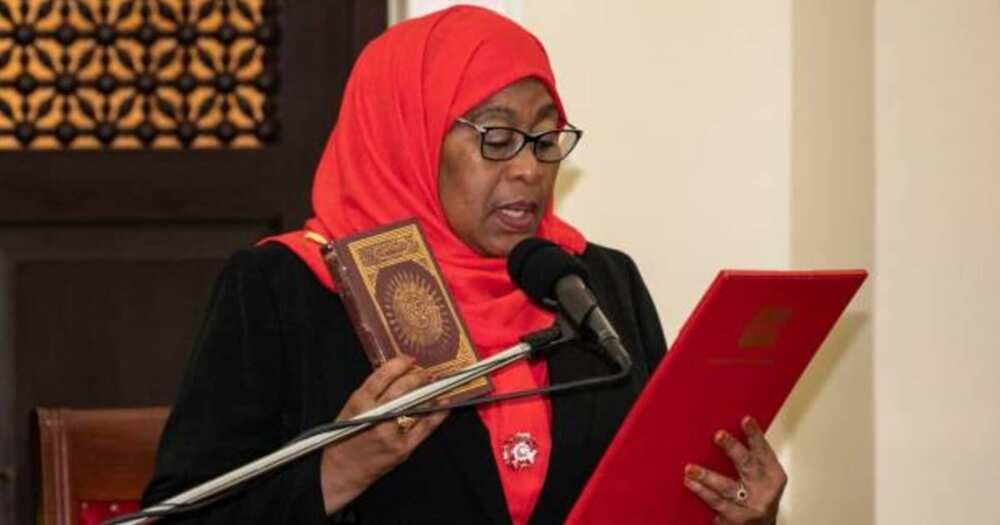 Kamala Harris celebrates Samia Suluhu for becoming Tanzania's first female president