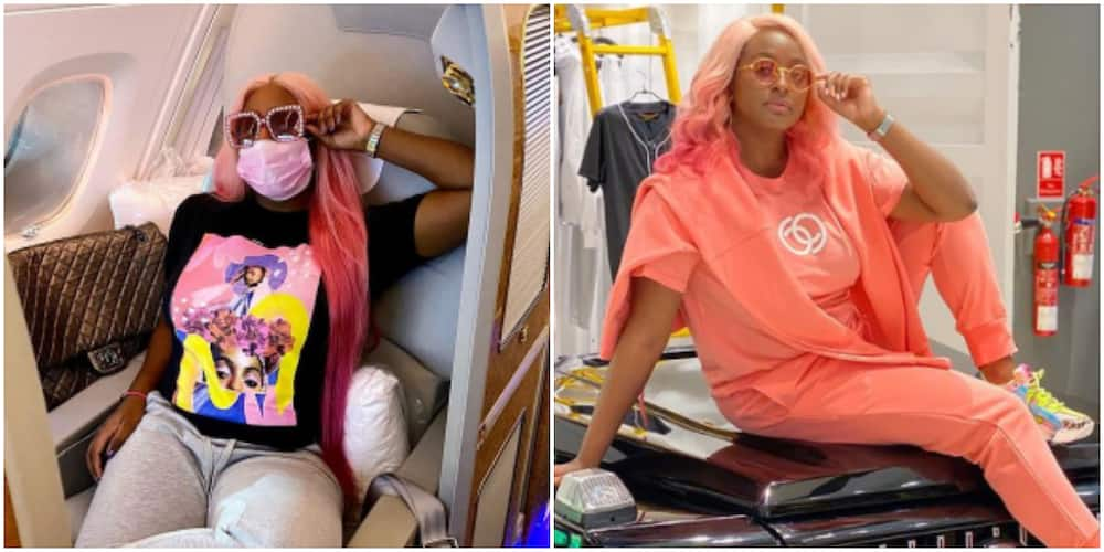 DJ Cuppy takes a break from work, goes on holiday (photo)