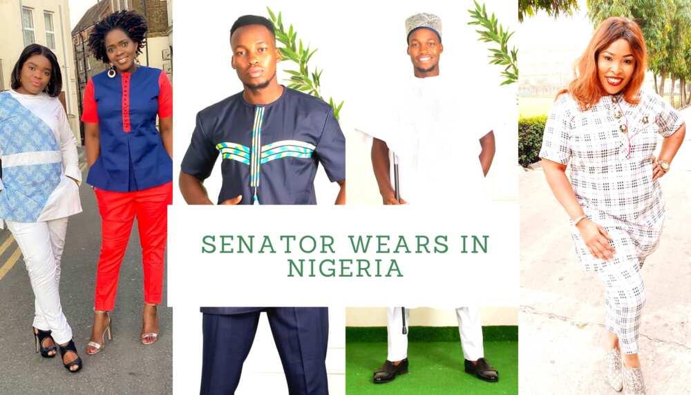 Senator wears