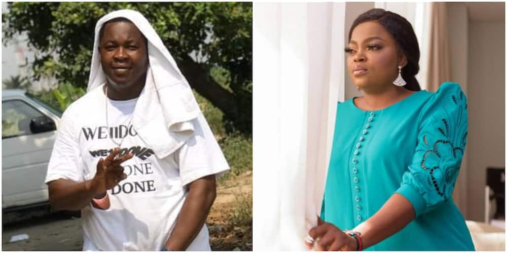 You Are My Hero, Comic Actor Baba Tee Gives Rare Shout-Out to Funke Akindele-Bello for Making him 'Blow'