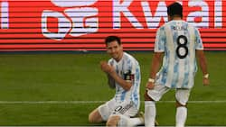 Wife reacts after Argentine star changes phone's wallpaper of his kids to picture of him and Messi