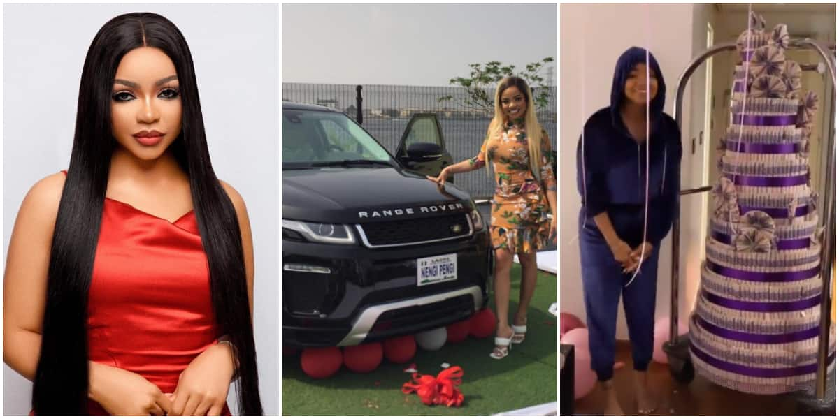 Nengi Gets Range Rover From Fans, Huge Money Cake From Ozo on Birthday