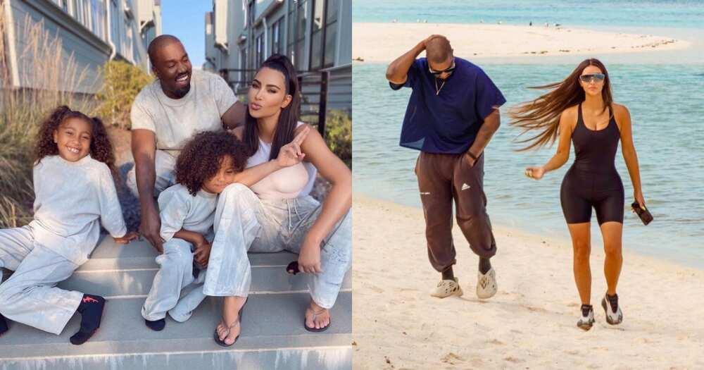 Eish: Kanye West Still Refuses to Speak Directly to Kim Kardashian