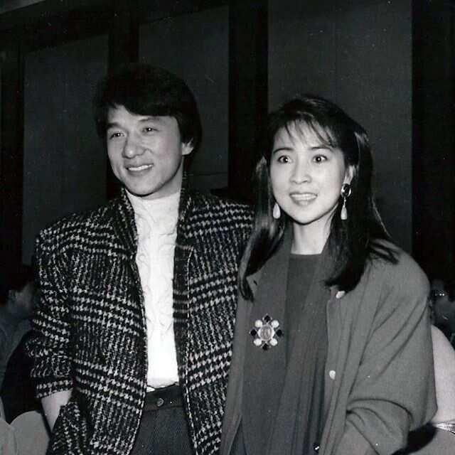 Jackie Chan wife Joan Lin