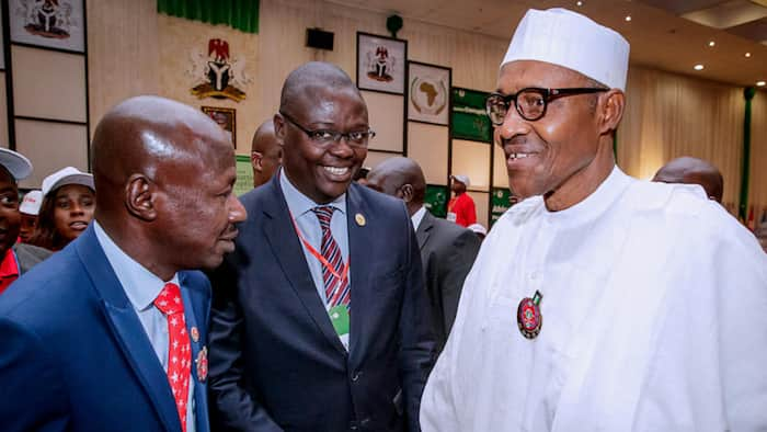 Just in: Presidency finally opens up on Magu's AIG promotion rumour
