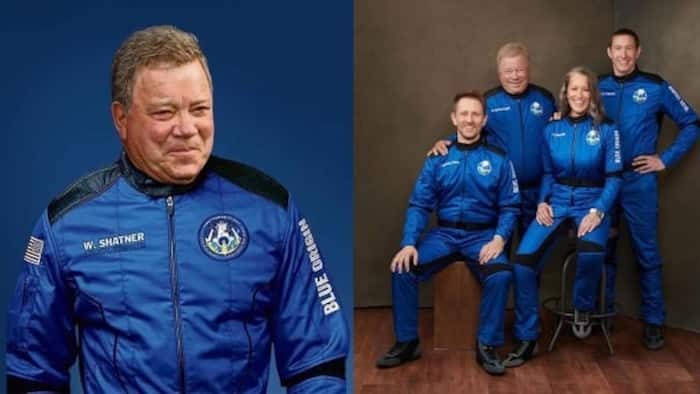 Meet 90-year-old Canadian actor, oldest person to go to space, photo shows he's excited about trip