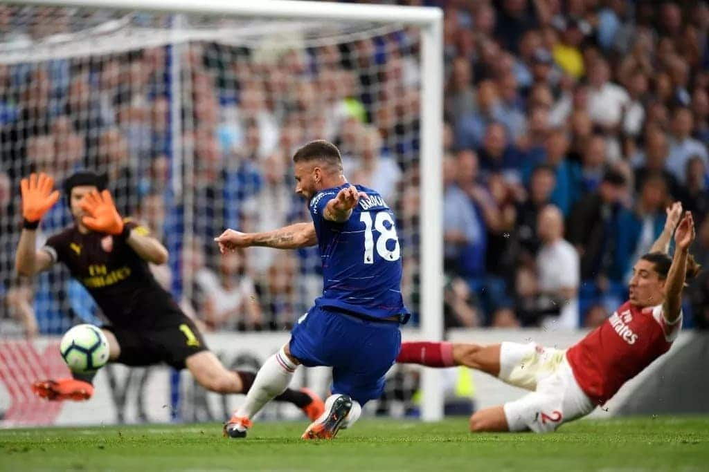 Olivier Giroud ready to battle Tammy Abraham for starting role at Chelsea