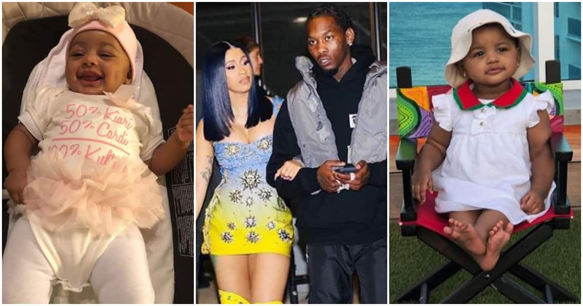 Cardi B Welcomes A Daughter With Rapper Offset: Cardi B And Offset Celebrate Daughter Kulture As She Turns