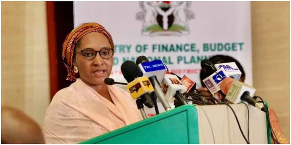 Finance Minister, Zainab Ahmed, Gives Details on 2022 Budget Spending