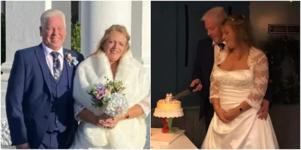 Richard Purcell: 57-year-old man wins N5m bet on his wedding day