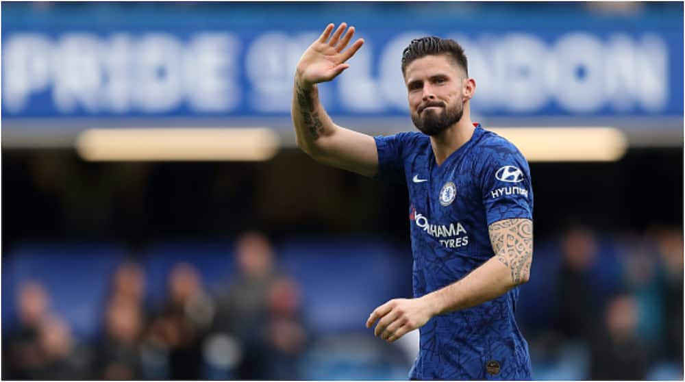 Olivier Giroud says he rejected move to Lyon because of feud with Benzema