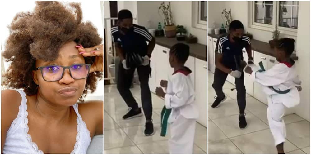 Mary Remmy Njoku and her 5-year-old daughter