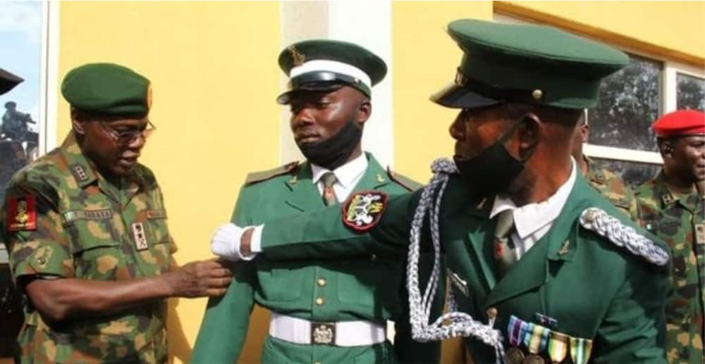 COAS promotes private soldier for display of professionalism