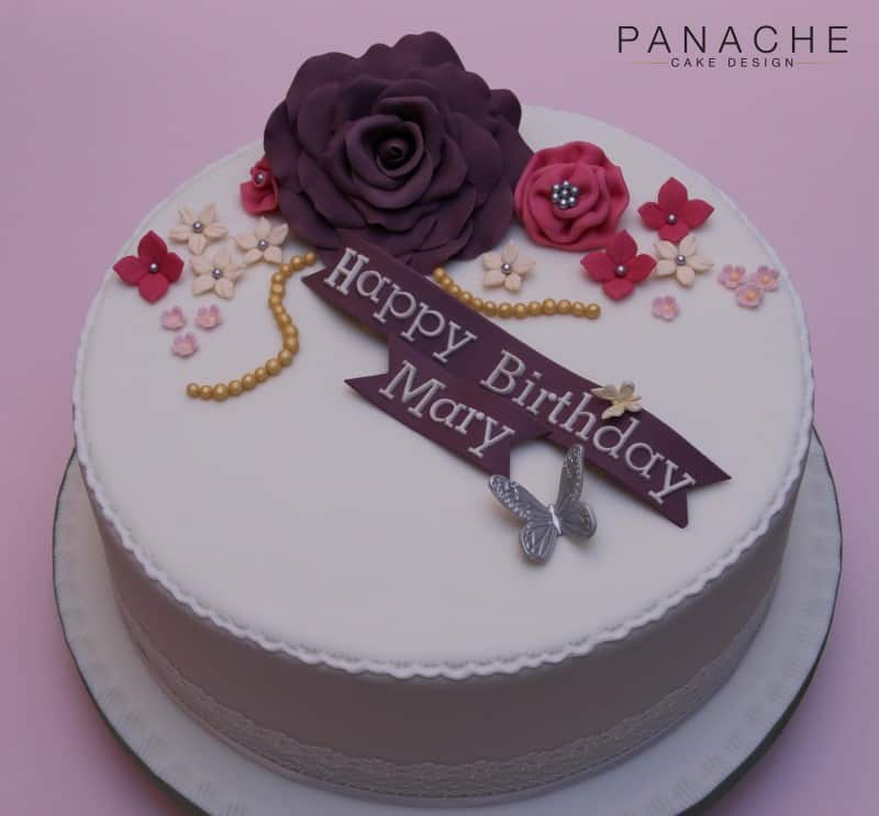 Birthday Cake For Ladies With Name