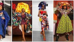 Nigerian fashion stylist: 10 times Teni Oluwo created African looks with a bit of 'extraness'