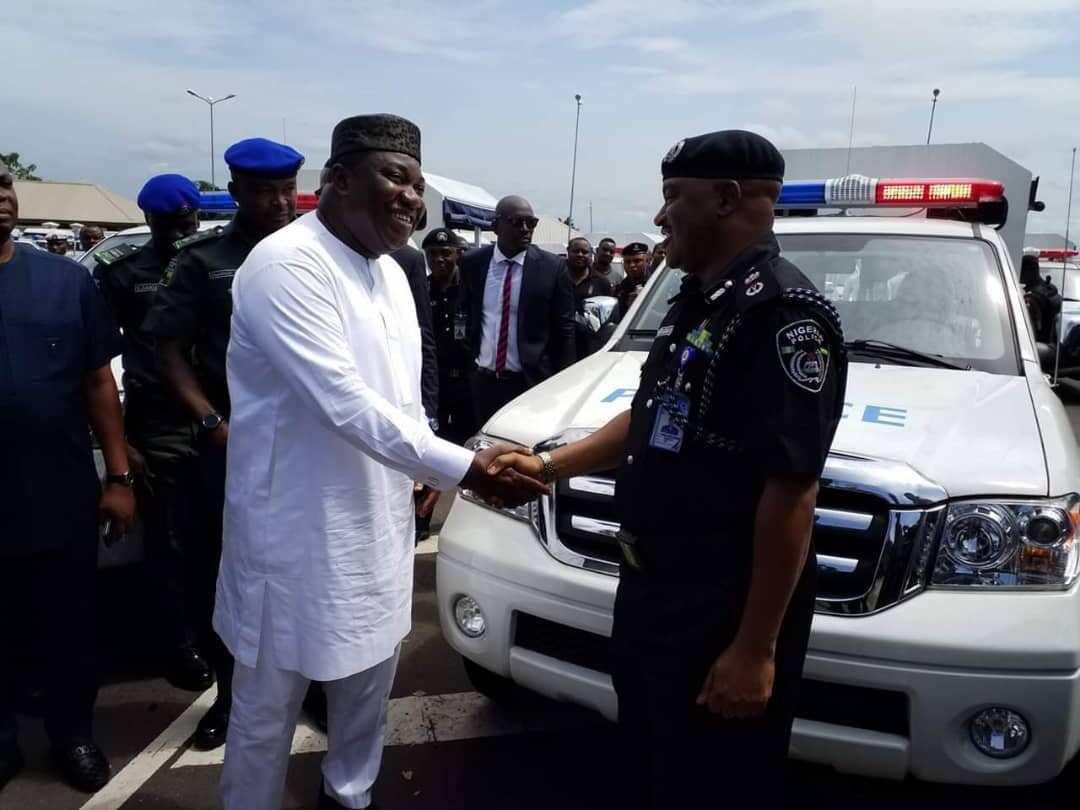 Gov Ugwuanyi donates 65 security vehicles to Enugu state police - Latest News in Nigeria & Breaking Naija News 24/7   LEGIT.NG