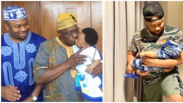 I love my children with all my heart: Olakunle Churchill celebrates Father's Day