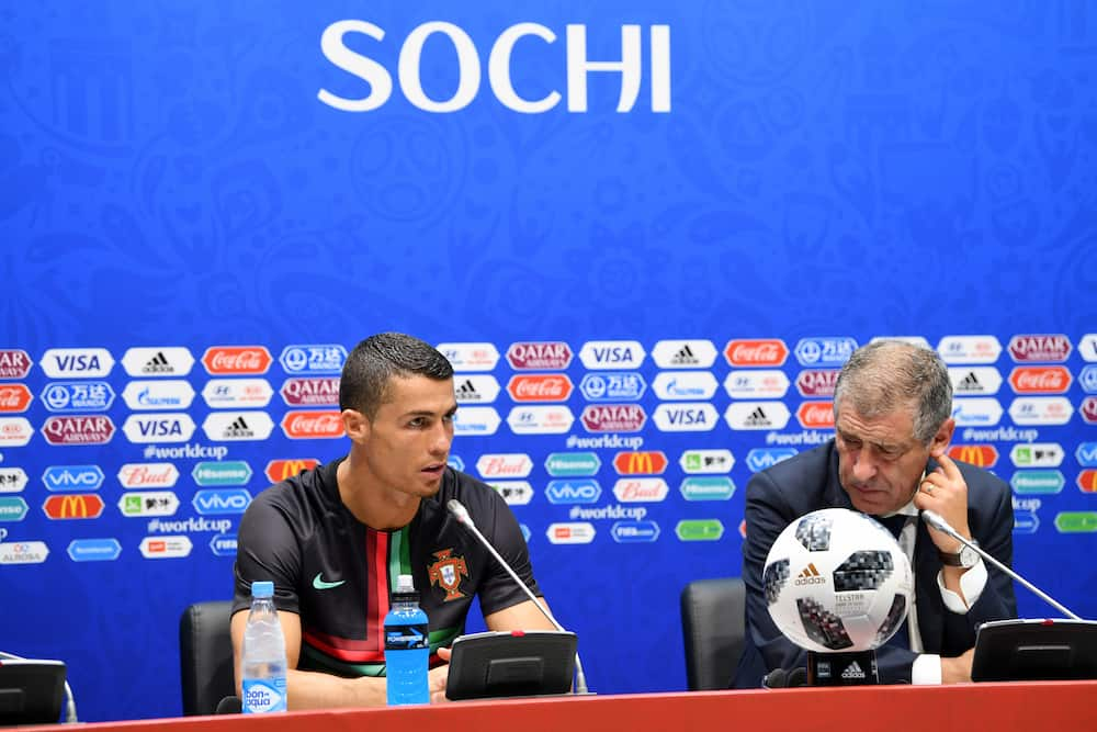 Cristiano Ronaldo: Portugal coach Santos says the Juventus star is in good condition