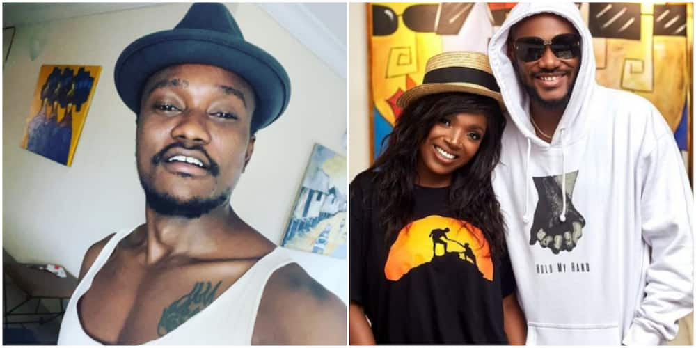 Brymo calls out 2baba