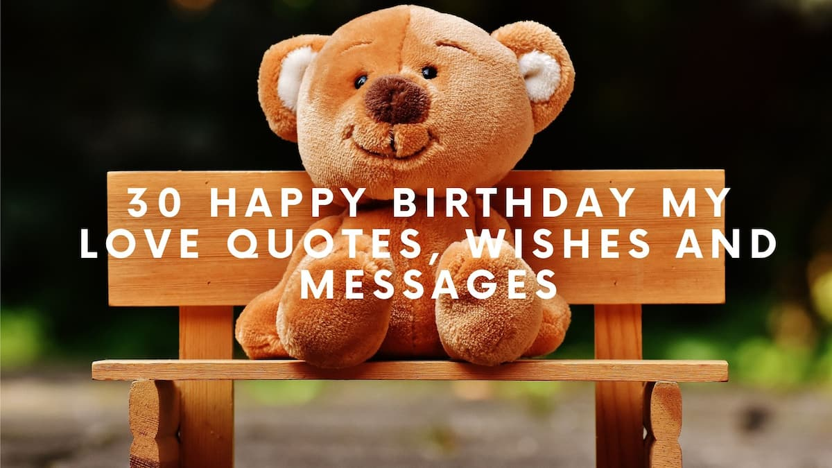 Remarkable 30 Happy Birthday My Love Quotes Wishes And Messages Legit Ng Personalised Birthday Cards Beptaeletsinfo