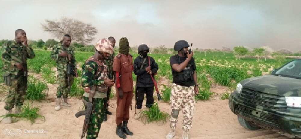 Dakarun Nijar sun harbe masu kai wa 'yan Boko Haram makamai a kan hanyarsu ta zuwa Najeriya