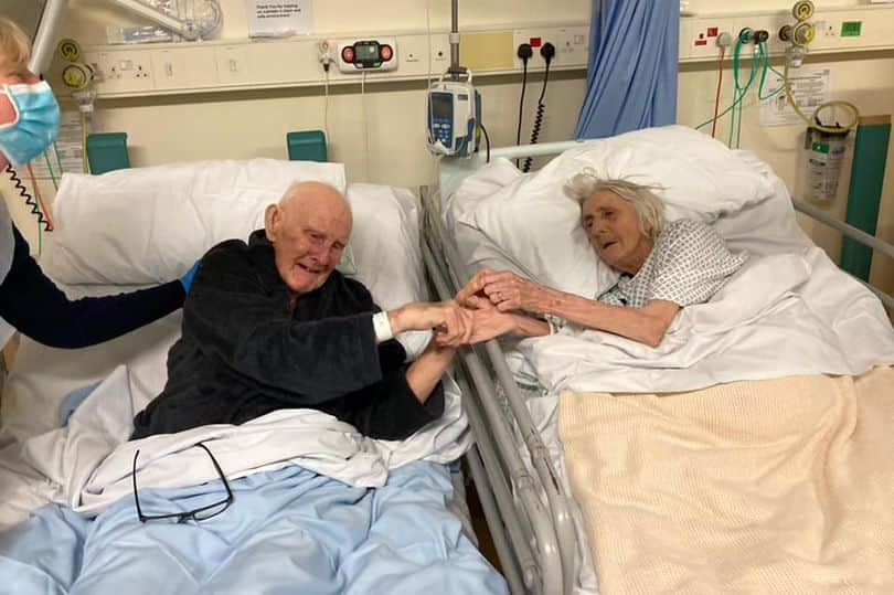 Tears as couple who have been married for 70 years die of COVID-19
