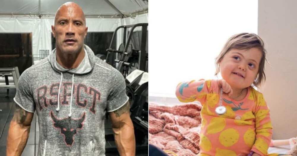 The Rock pens heartwarming message for sick child battling cancer