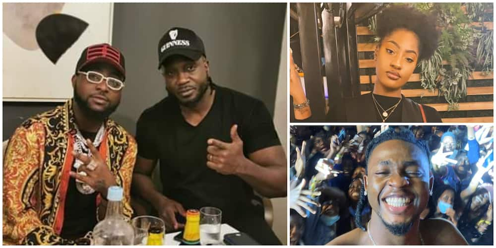Omah Lay and Tems: Davido calls out Ugandan artiste for alleged role in their arrest