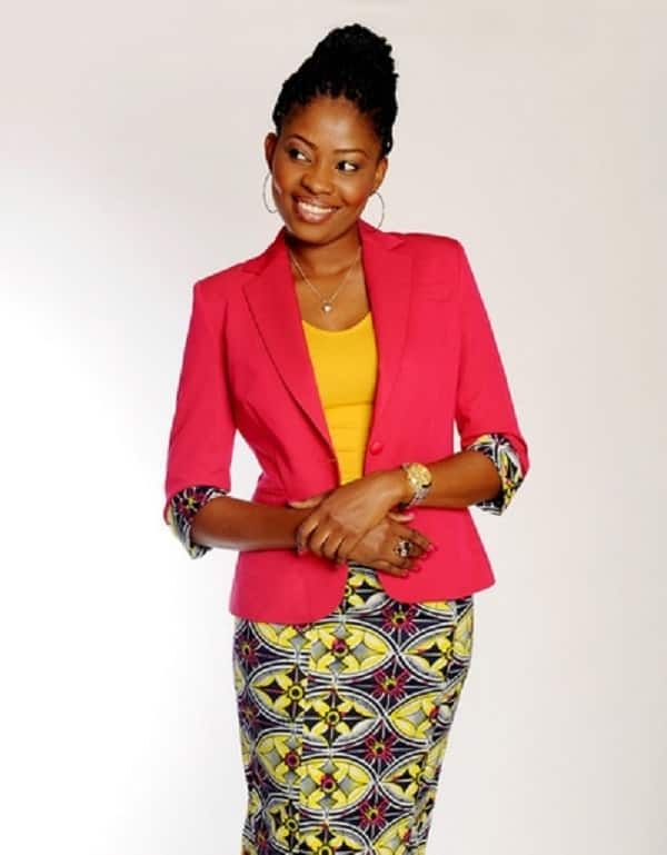 ankara skirt and jacket