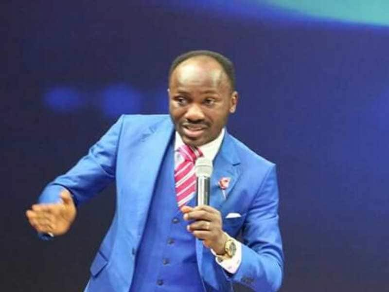 Apostle Suleman: You're in the same job with Hushpuppi, Nigerians slam cleric