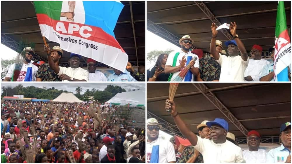 PDP's Senator Steven Odey Defects to APC in Cross River after Losing Seat