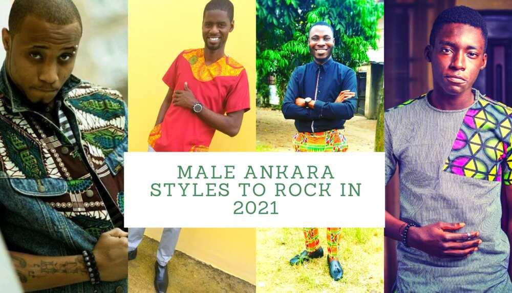 Male Ankara styles