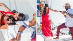 Khafi put her love story with Gedoni in a video as she celebrates him on his birthday