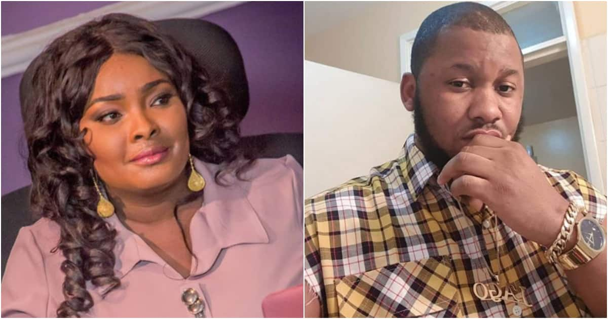 New mom Ronke Odusanya thanks friends and family for their congratulatory messages, reveals her baby daddy's name