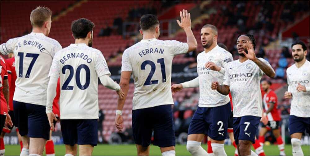 Southampton vs Man City: Sterling scores as Citizens beat Saints 1-0