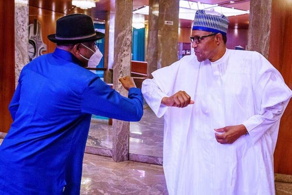 Zaben shugaban ƙasa 2023: Magoya bayan Buhari na son Jonathan ya dawo mulki
