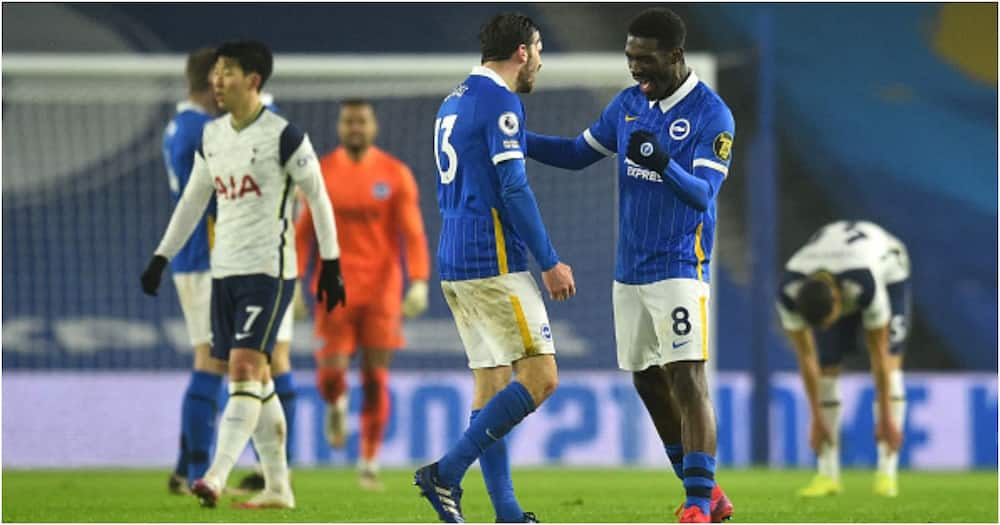 Trossard's goal the difference as bright Brighton sink woeful Spurs