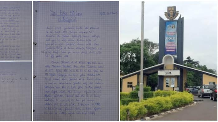 Oyinbo man who studied in Nigerian university shares his fine handwritten Yoruba assignment with tonal marks