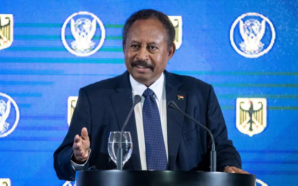 Sudan's prime minister Abdalla Hamdok