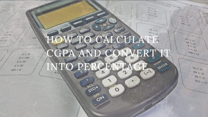 How to calculate CGPA and convert it into percentage ▷ Legit ng